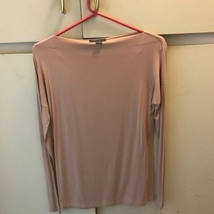 Vince bout neck rayon top